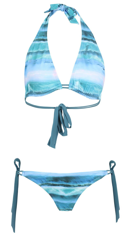 Bikini bleu vagues Bench