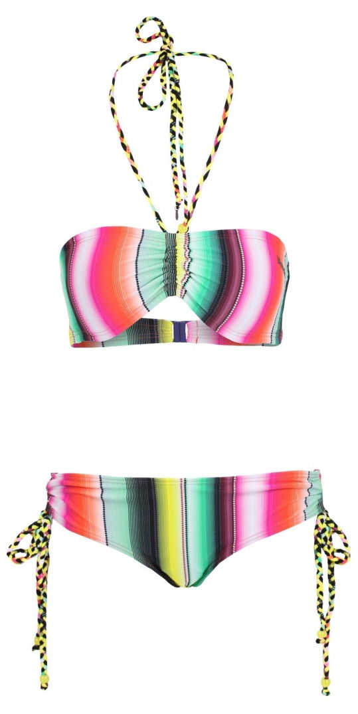 Bikini imprimé multicolores Bench