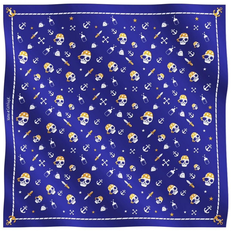 Un foulard voyageur Pirates