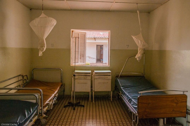 Dans une des chambres de l'hôpital