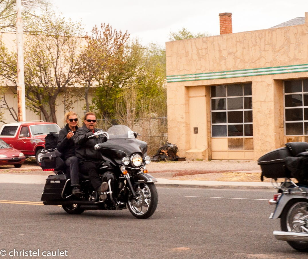 Road-trip USA - bikers sur la route 66 - Etats-Unis