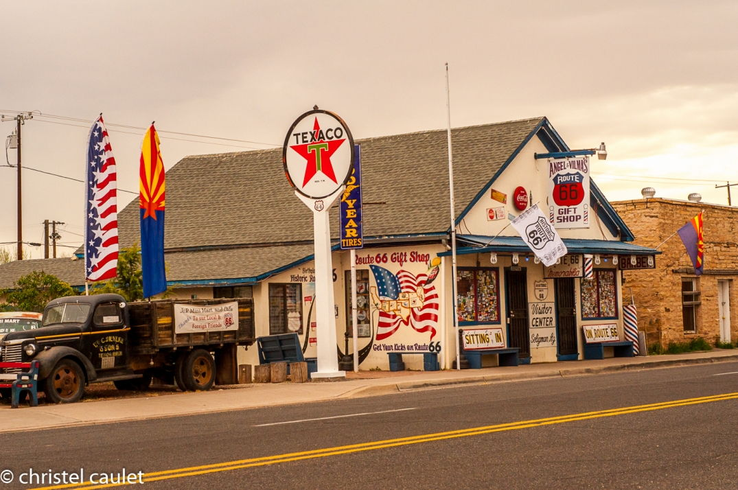 Road-trip USA - Flagstaff - déco - route 66