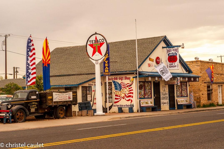 Road-trip USA - Flagstaff - déco - route 66