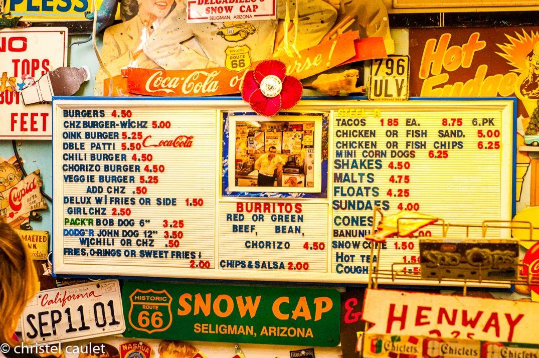 Et vous, vous prenez quoi ? Café Delgadillo -route 66