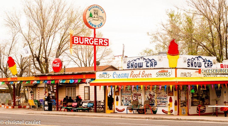 Le Café Delgadillo, déco unique sur la route 66