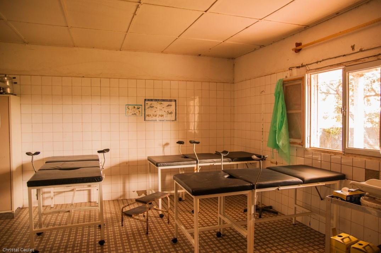 La salle d'opération de cet hôpital au Sénégal