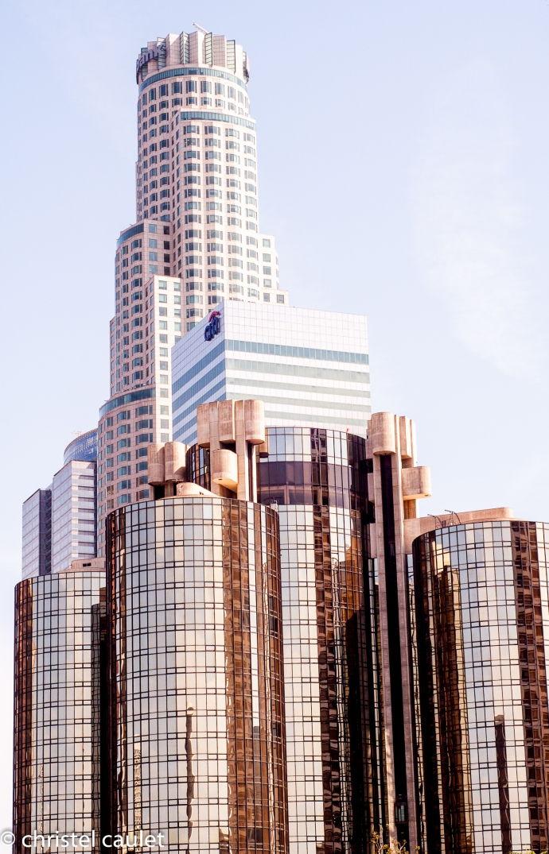 Les buildings du Fashion District - Los Angeles