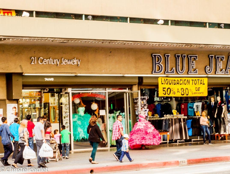 Évitez le Fashion District - Los Angeles - roadtrip USA