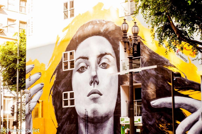 Graffiti dans Los Angeles- Downtown