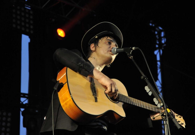 Pete Doherty en concert à Pause Guitare