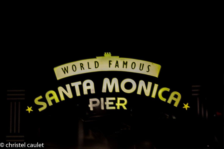 Le pier de Santa Monica à Los Angeles - road-trip USA
