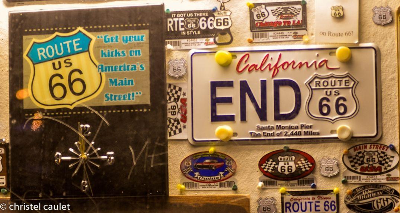 La fin de la route 66 à Santa Monica à Los Angeles - road-trip USA