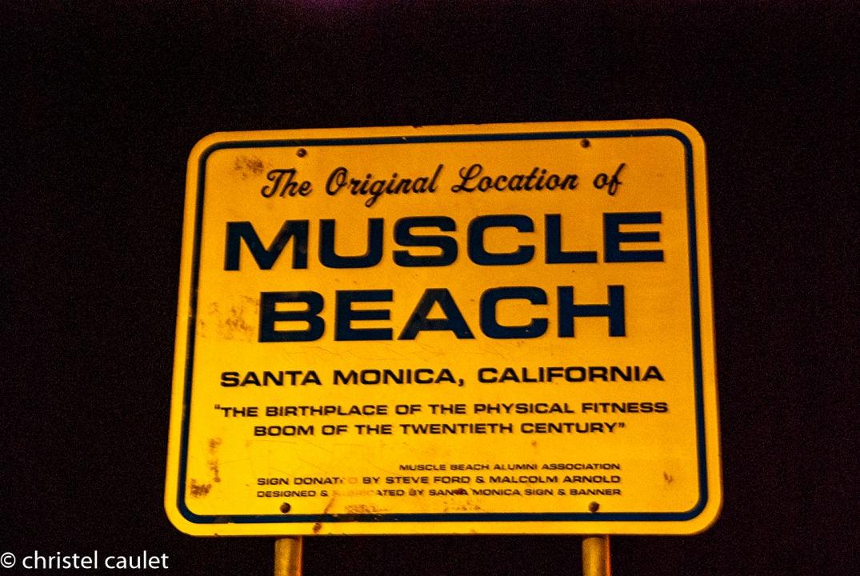 Muscle Beach à Santa Monica à Los Angeles - road-trip USA