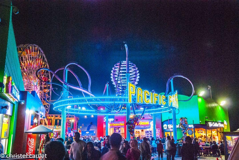 parc d'attraction de Santa Monica à Los Angeles - road-trip USA