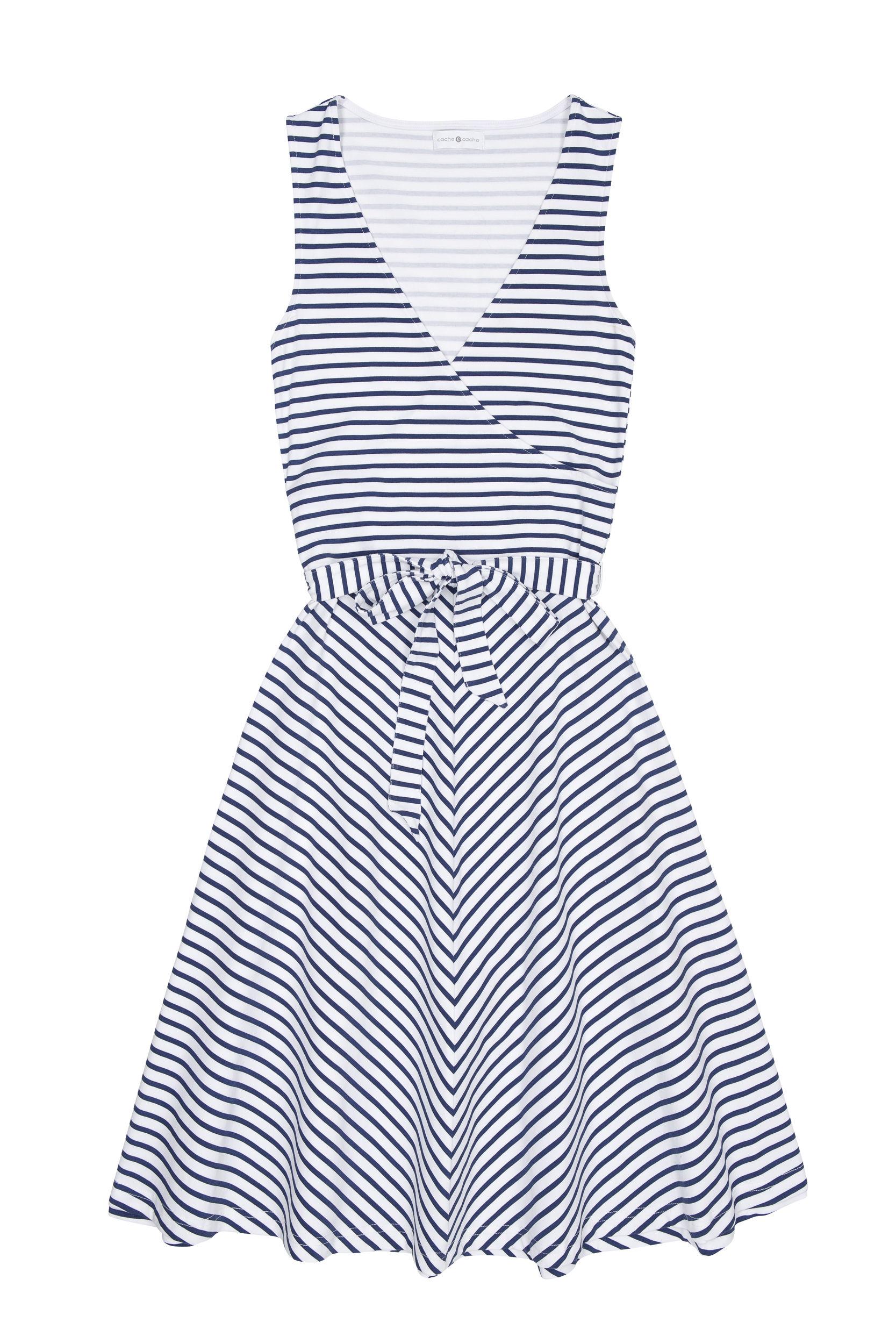 Une autre robe à rayure