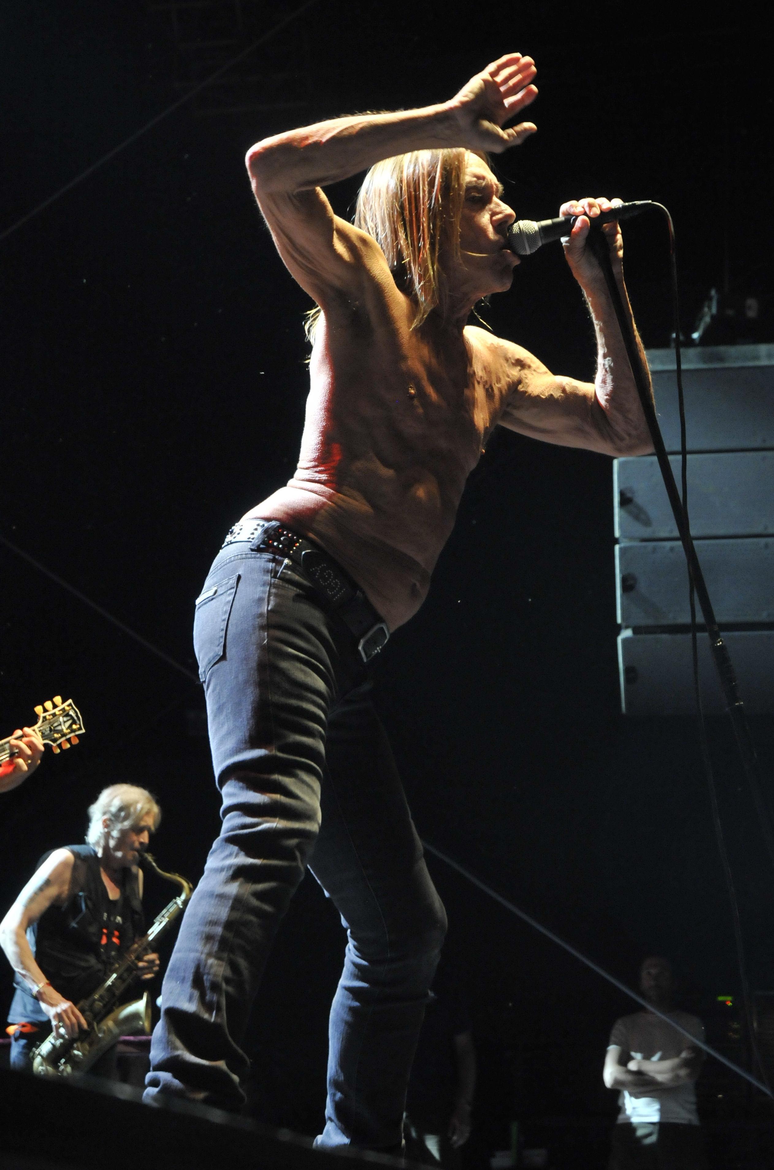 Iggy Pop en concert