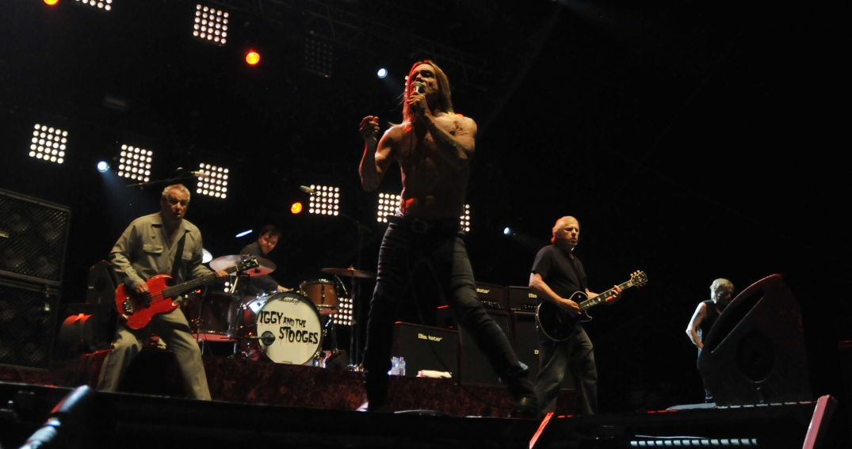 Iggy Pop en concert à Pause Guitare : une bête de scène