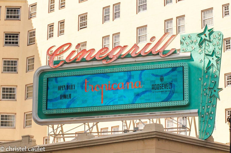 Road-trip USA - Panneaux publicitaires à Los Angeles