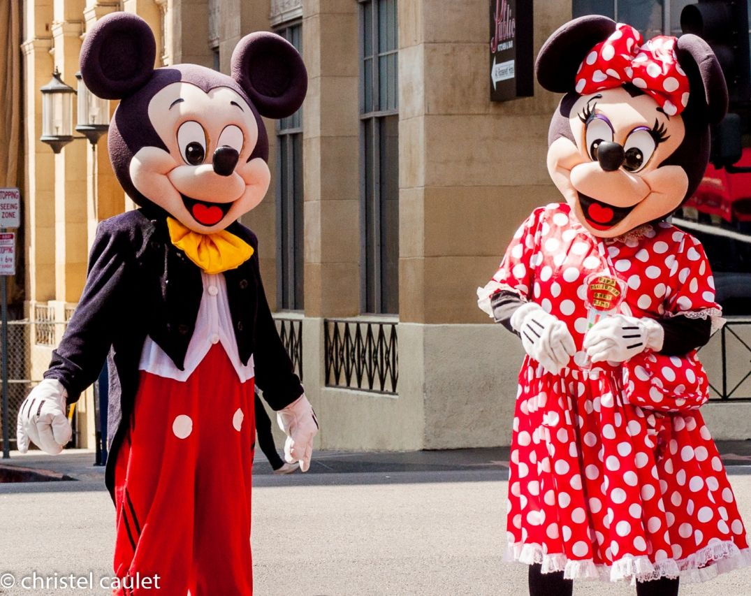 Road-trip USA - Mickey et Minnie - Walk of Fame à Los Angeles