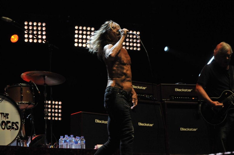 Iggy Pop a mis le feu en concert à Pause Guitare