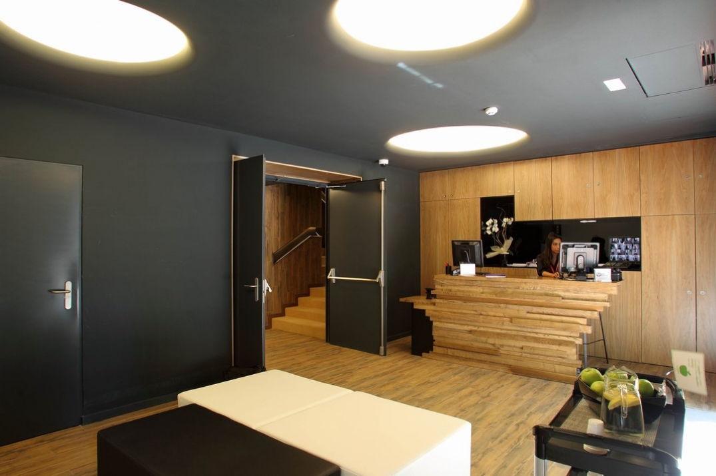 L'accueil de l'hôtel Room Mate Pau à Barcelone