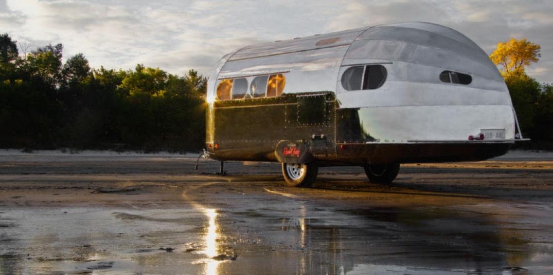Caravane américaine pour voyager