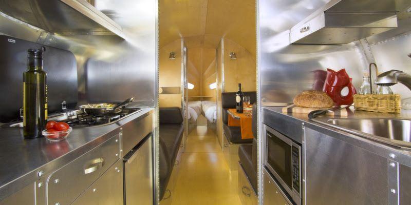 Espace cuisine du van
