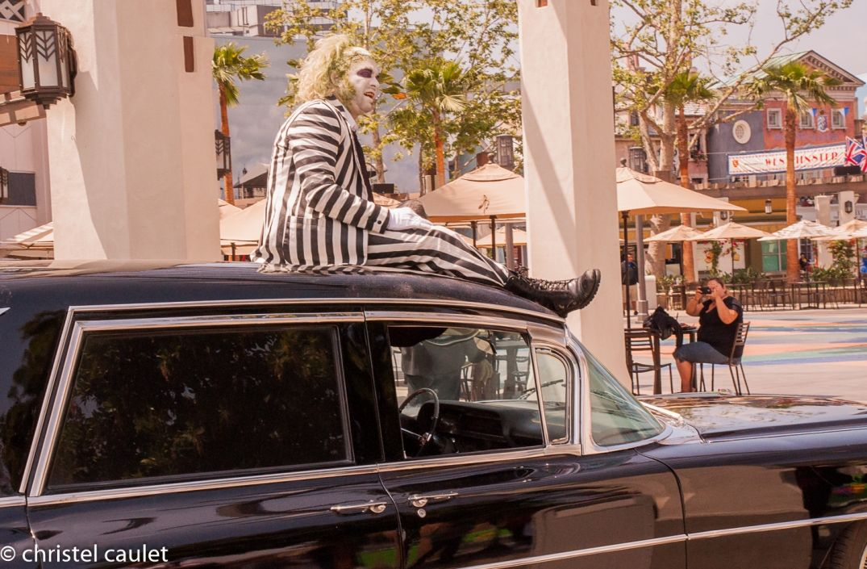 Road-trip USA - animations à Universal Studio à Los Angeles