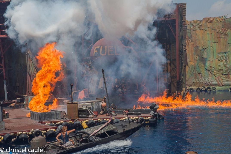 Road-trip USA - explosion à Universal Studio à Los Angeles