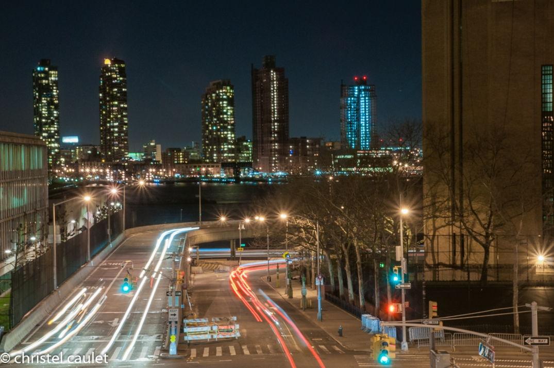 Balade nocturne pour admirer la skyline de New-York