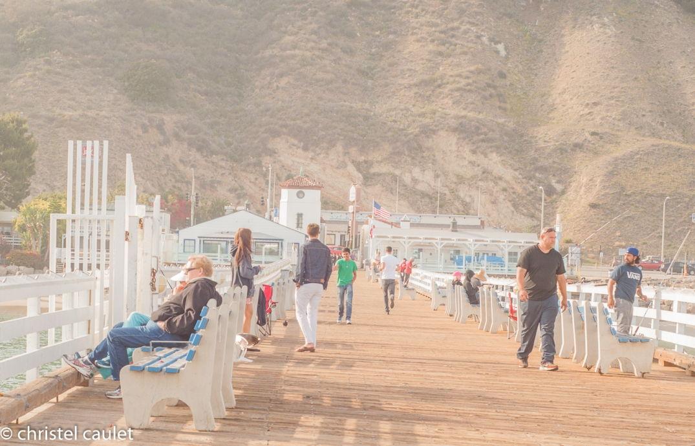 Roadtrip USA - Le pier à Malibu Beach