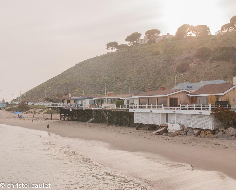 Roadtrip USA - Les villas en bord de plage à Malibu