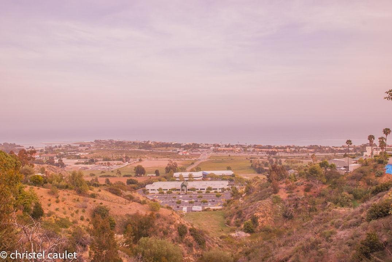 Roadtrip USA - Vue sur les villas à Malibu