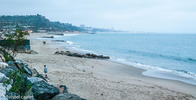 Roadtrip USA -plage à Malibu Beach