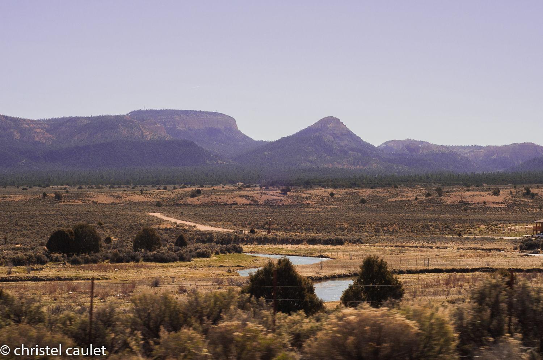 De grands espaces dans l'Ouest américain