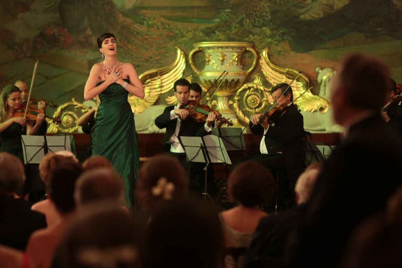 Chant lyrique dans le film Grâce de Monaco