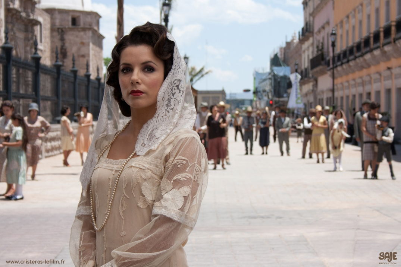 La mariée dans le film Cristéros