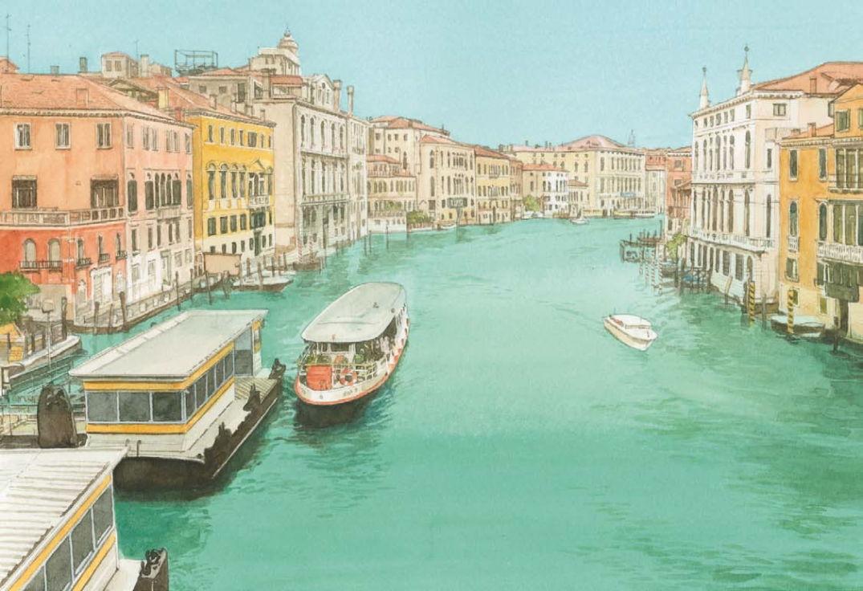 Des dessins uniques sur Venise