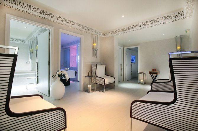 Le Five seas Hôtel à Cannes et son spa