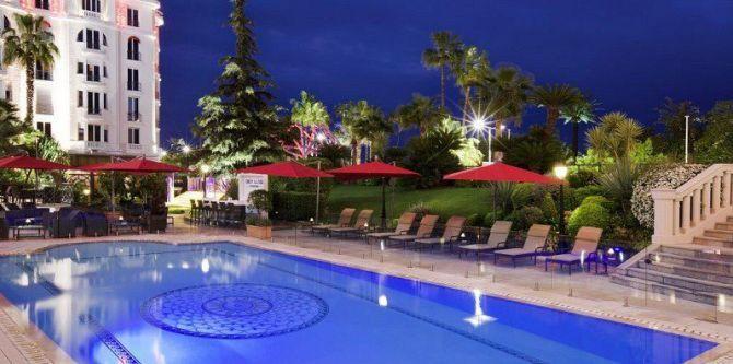 Hôtel Majestic Barrière à Cannes
