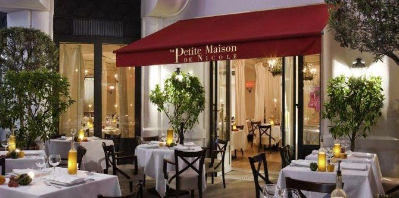 Le restaurant de l'Hôtel Majestic Barrière à Cannes