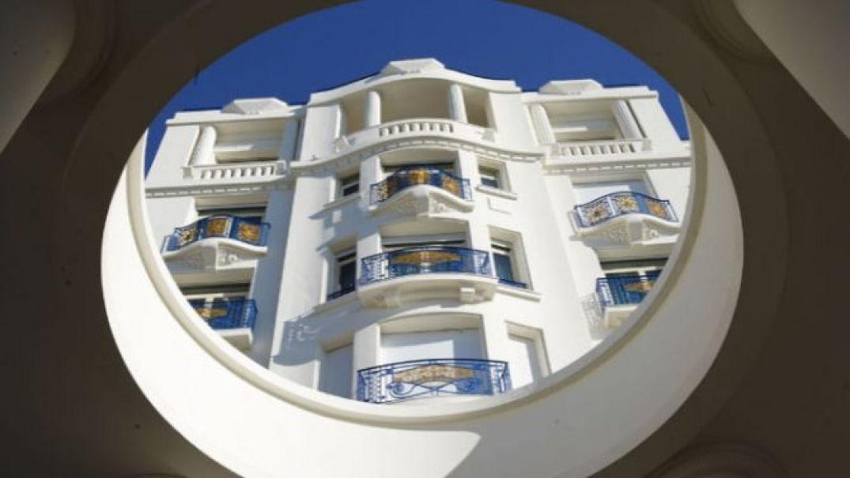 A L'Hôtel Martinez à Cannes