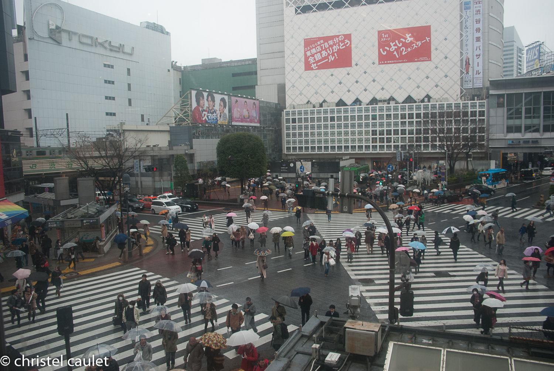 Un croisement ultra connu à Tokyo