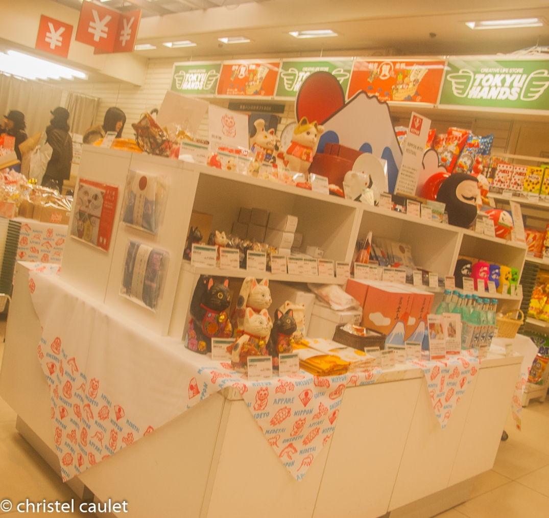 Dans une boutique à Tokyo