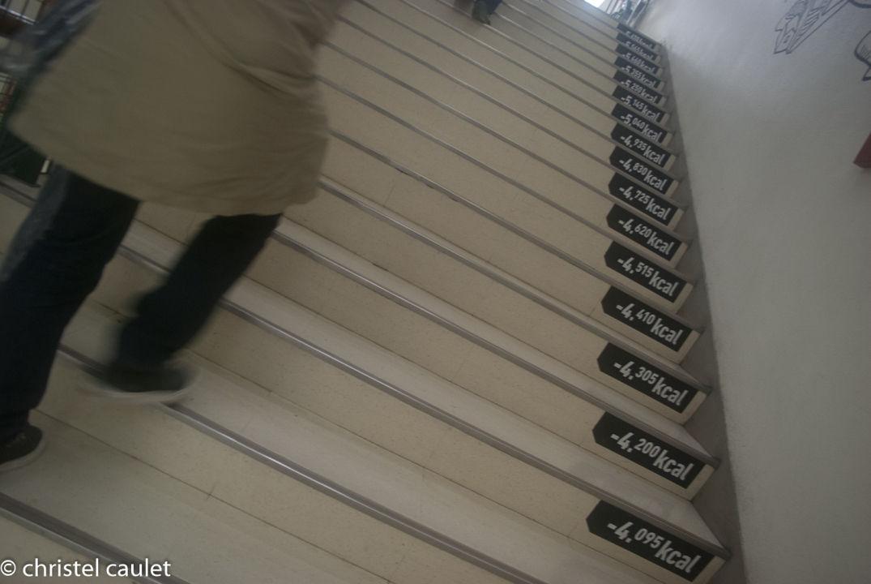 Monter des escaliers de manière ludique