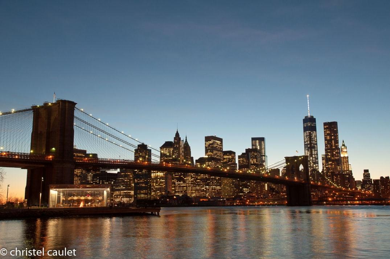 Magique le spectacle devant nos yeux à New York