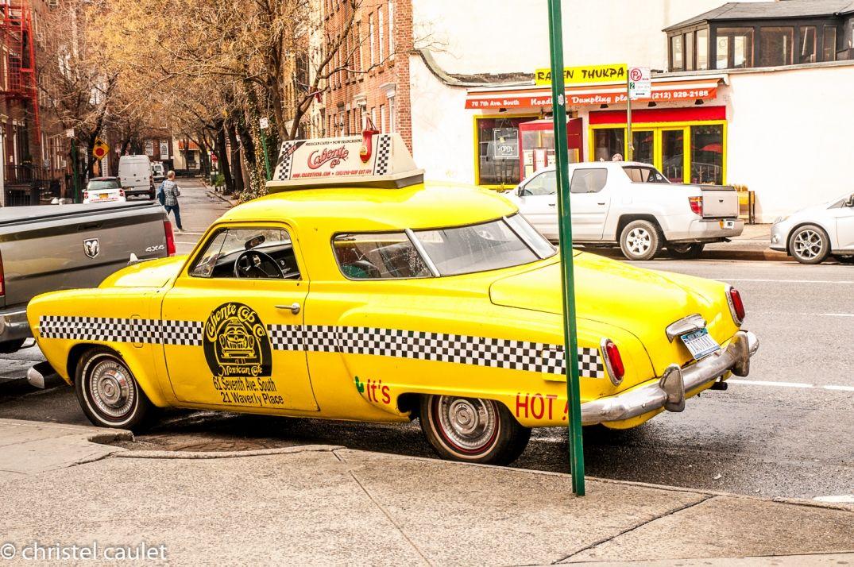 Les taxis jaunes de New-York