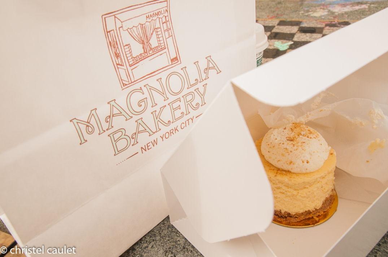 Pause gourmande au Magnolia Bakery !