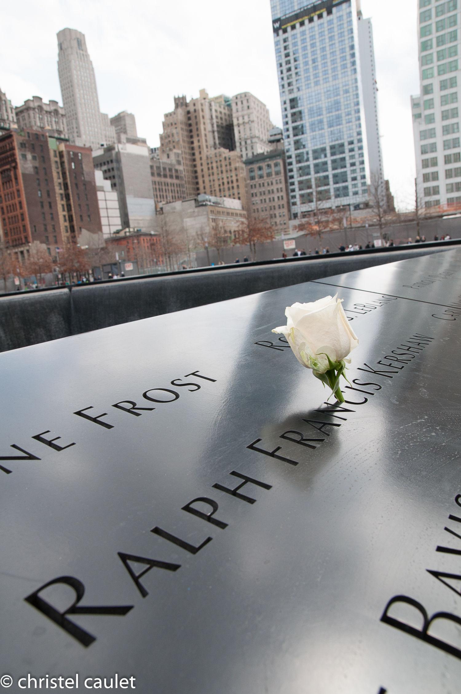 Au Mémorial du 11 septembre