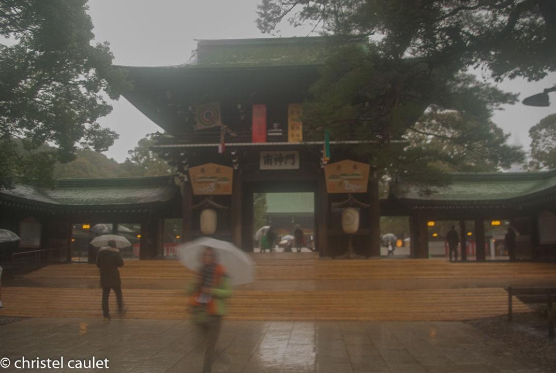 Au temple à Harakuja